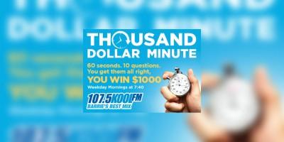 KOOL FM's $1000 Minute | 107 5 Kool FM