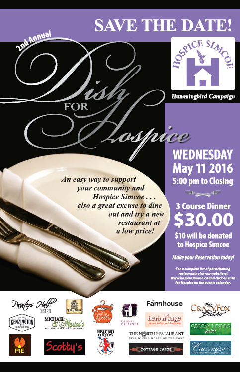 2nd Annual Dish for Hospice
