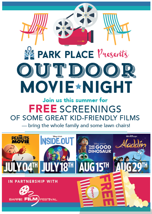 Park Place Out Door Movie Night
