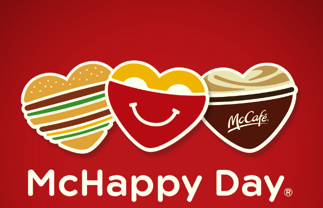 McHappy Day supporting local children's charities across Canada