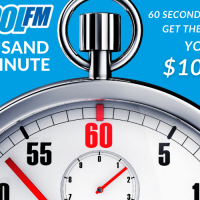 $10 000 Minute April 20th – 2PM