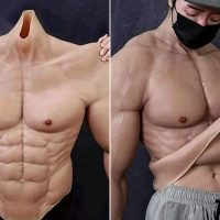 Super Realistic Muscle Suit Makes Wearers Looked Ripped!