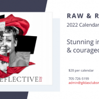 Raw & Reflective Calendar